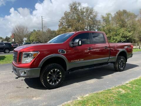 2016 Nissan Titan XD for sale at Gator Truck Center of Ocala in Ocala FL