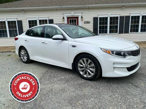 2016 Kia Optima for sale at Premier Auto Solutions & Sales in Quinton VA