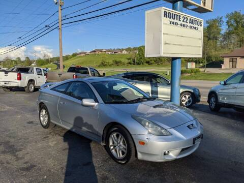 2002 Toyota Celica for sale at Route 22 Autos in Zanesville OH