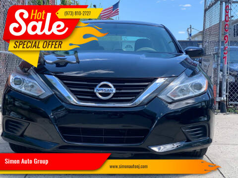 2016 Nissan Altima for sale at Simon Auto Group in Newark NJ