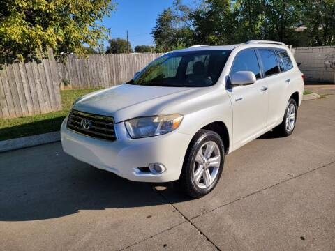 2009 Toyota Highlander for sale at Harold Cummings Auto Sales in Henderson KY