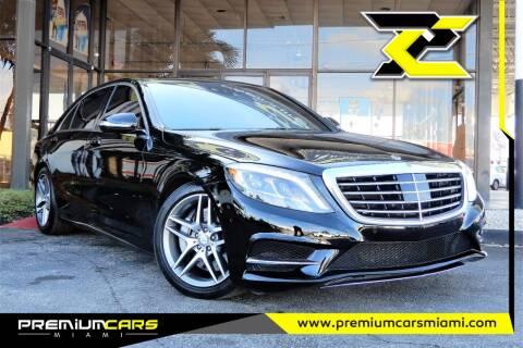 2016 Mercedes-Benz S-Class for sale at Premium Cars of Miami in Miami FL