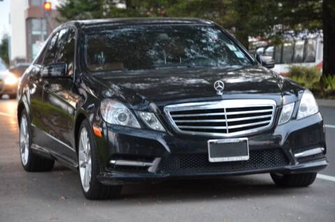 2012 Mercedes-Benz E-Class for sale at Brand Motors llc in Belmont CA