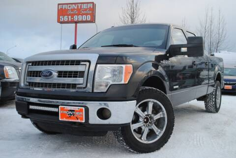 2013 Ford F-150 for sale at Frontier Auto & RV Sales in Anchorage AK
