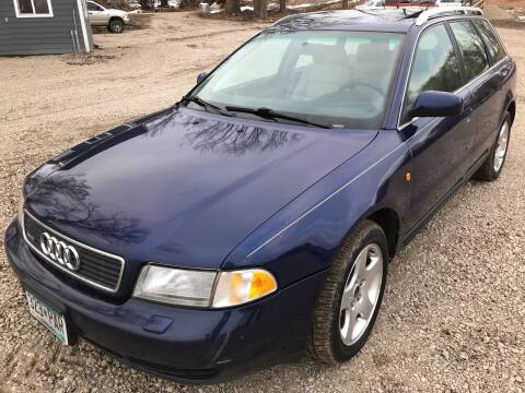 1998 Audi A4 for sale at MINNESOTA CAR SALES in Starbuck MN