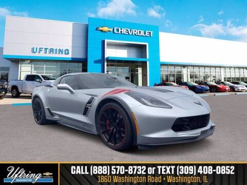 2017 Chevrolet Corvette for sale at Gary Uftring's Used Car Outlet in Washington IL