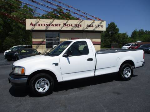 2002 Ford F-150 for sale at Automart South in Alabaster AL