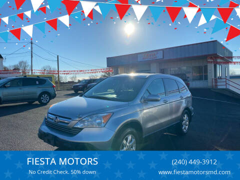 2007 Honda CR-V for sale at FIESTA MOTORS in Hagerstown MD