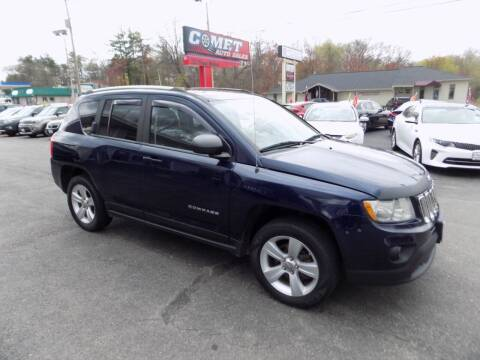 2012 Jeep Compass for sale at Comet Auto Sales in Manchester NH