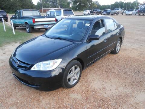 2005 Honda Civic for sale at Cooper's Wholesale Cars in West Point MS
