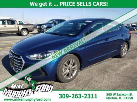 2018 Hyundai Elantra for sale at Mike Murphy Ford in Morton IL