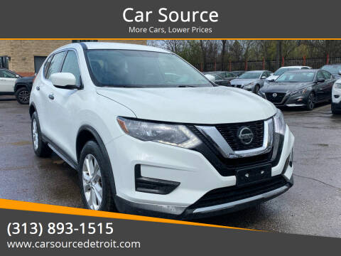 2018 Nissan Rogue for sale at Car Source in Detroit MI