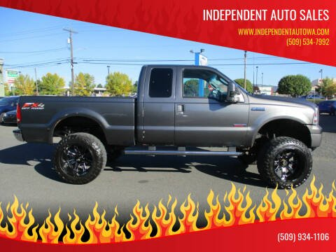 2003 Ford F-250 Super Duty for sale at Independent Auto Sales #2 in Spokane WA