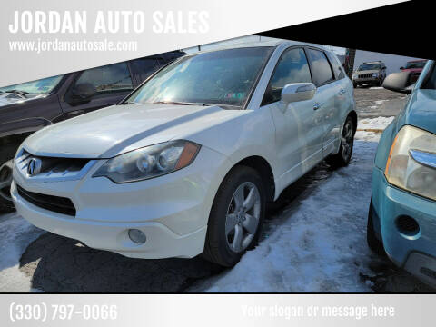 2008 Acura RDX for sale at JORDAN AUTO SALES in Youngstown OH