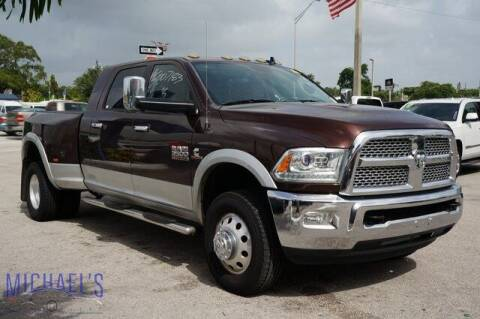 2015 RAM Ram Pickup 3500 for sale at Michael's Auto Sales Corp in Hollywood FL