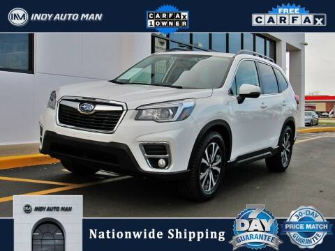 2019 Subaru Forester for sale at INDY AUTO MAN in Indianapolis IN