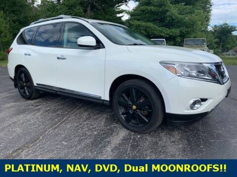 2015 Nissan Pathfinder for sale at Drivers Choice Auto & Truck in Fife Lake MI