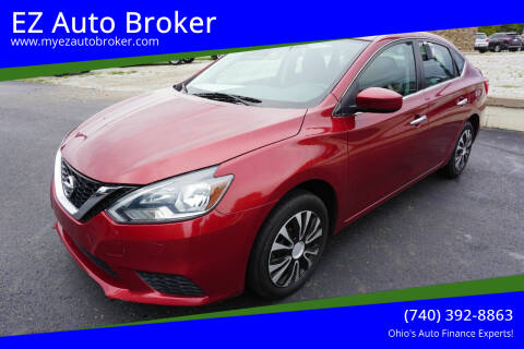 2017 Nissan Sentra for sale at EZ Auto Broker in Mount Vernon OH