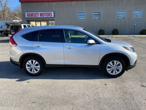 2012 Honda CR-V for sale at Ramsey Motors in Riverside MO