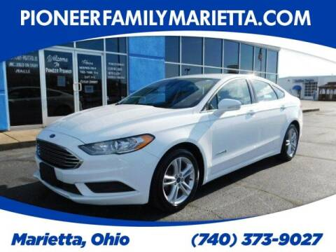 2018 Ford Fusion Hybrid for sale at Pioneer Family auto in Marietta OH