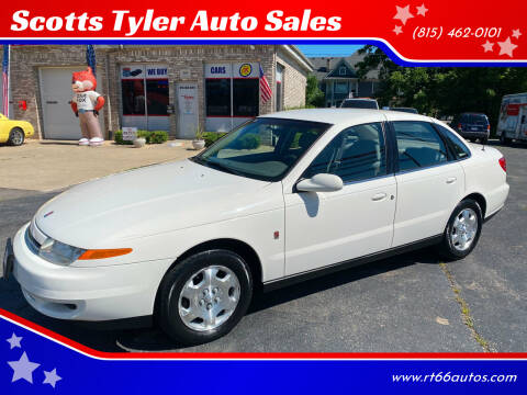 2002 Saturn L-Series for sale at Scotts Tyler Auto Sales in Wilmington IL
