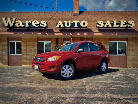 2010 Toyota RAV4 for sale at Wares Auto Sales INC in Traverse City MI