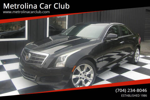2014 Cadillac ATS for sale at Metrolina Car Club in Matthews NC