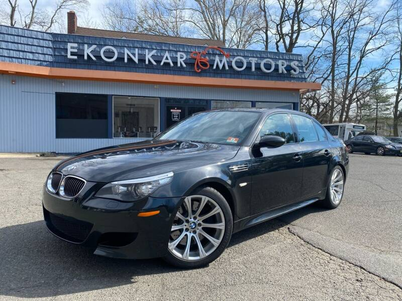2008 BMW M5 for sale at Ekonkar Motors in Scotch Plains NJ