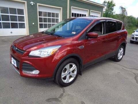 2015 Ford Escape for sale at SCHURMAN MOTOR COMPANY in Lancaster NH