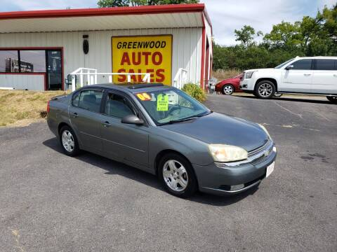 2004 Chevrolet Malibu for sale at Greenwood Auto Sales in Greenwood AR