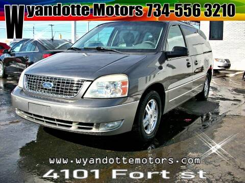 2005 Ford Freestar for sale at Wyandotte Motors in Wyandotte MI