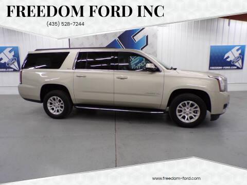 2017 GMC Yukon XL for sale at Freedom Ford Inc in Gunnison UT