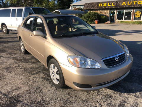2005 Toyota Corolla for sale at BELL AUTO & TRUCK SALES in Fort Wayne IN