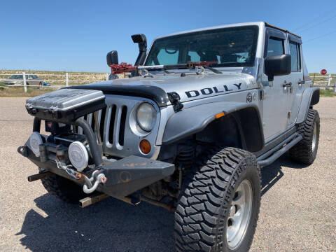 2007 Jeep Wrangler Unlimited for sale at PYRAMID MOTORS - Pueblo Lot in Pueblo CO