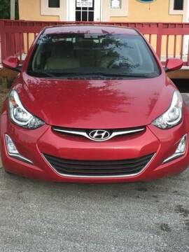 2015 Hyundai Elantra for sale at Nash's Auto Sales Used Car Dealer in Milton FL