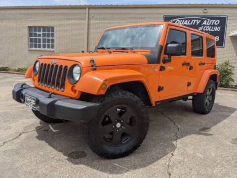2012 Jeep Wrangler Unlimited for sale at Quality Auto of Collins in Collins MS