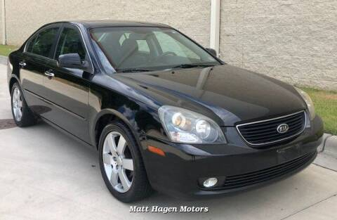 2007 Kia Optima for sale at Matt Hagen Motors in Newport NC