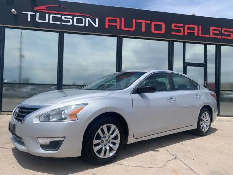 2013 Nissan Altima for sale at Tucson Auto Sales in Tucson AZ
