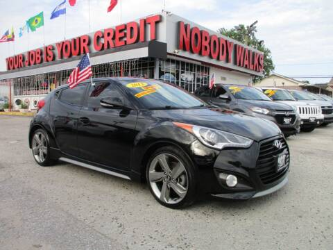 2013 Hyundai Veloster for sale at Giant Auto Mart 2 in Houston TX