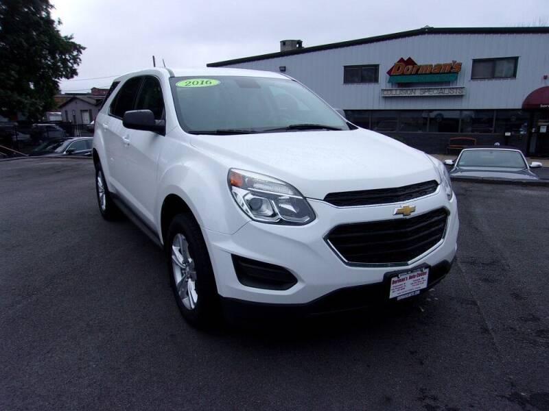 2016 Chevrolet Equinox for sale at Dorman's Auto Center inc. in Pawtucket RI