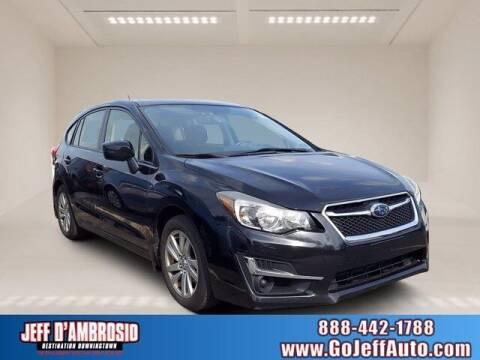2015 Subaru Impreza for sale at Jeff D'Ambrosio Auto Group in Downingtown PA