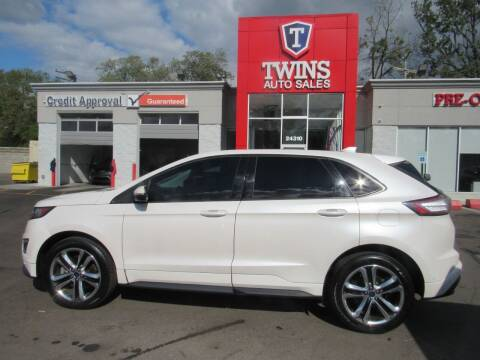 2016 Ford Edge for sale at Twins Auto Sales Inc in Detroit MI