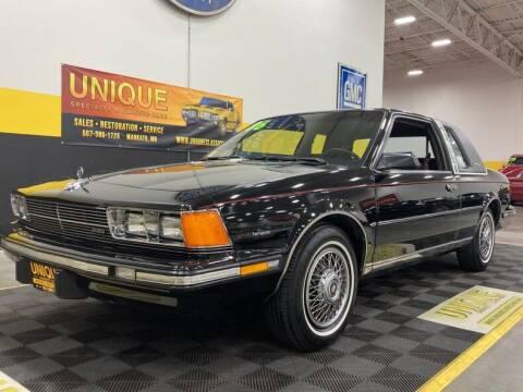 1986 Buick Century for sale at UNIQUE SPECIALTY & CLASSICS in Mankato MN