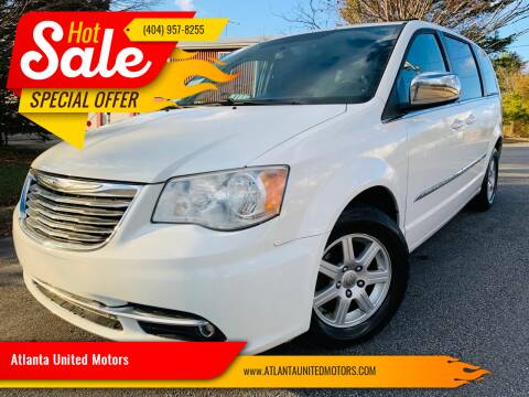 2012 Chrysler Town and Country for sale at Atlanta United Motors in Buford GA