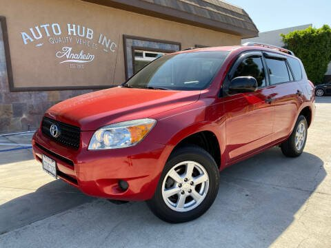 2007 Toyota RAV4 for sale at Auto Hub, Inc. in Anaheim CA