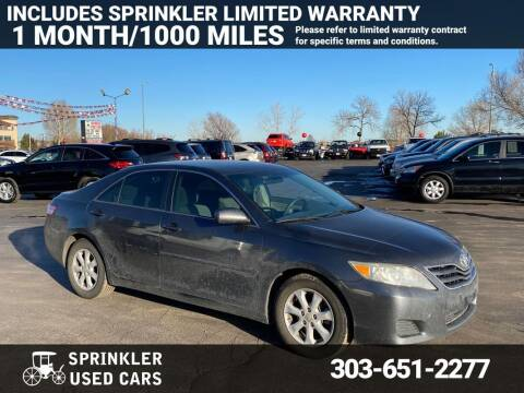 2011 Toyota Camry for sale at Sprinkler Used Cars in Longmont CO