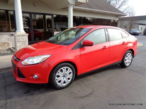 2012 Ford Focus for sale at DEALS UNLIMITED INC in Portage MI
