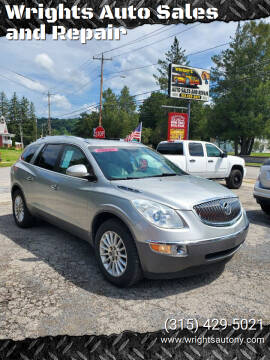 2008 Buick Enclave for sale at Wrights Auto Sales and Repair in Dolgeville NY
