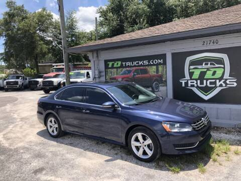 2012 Volkswagen Passat for sale at TD Trucks in Mt Dora FL