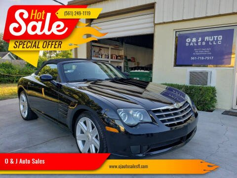 2007 Chrysler Crossfire for sale at O & J Auto Sales in Royal Palm Beach FL
